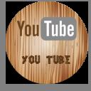 無料のアイコン素材 木目ボタン