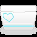 無料のアイコン素材 水色線入りファイルアイコン